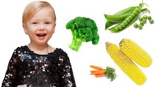 Yes Yes Vegetables Song by Olivia Kids Tube