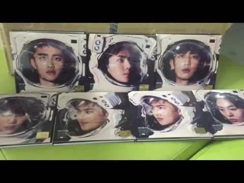 EXO Sing For You Album Unboxing