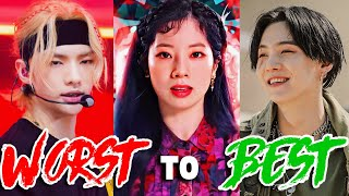 LEAST to BEST RAPS in KPOP of 2020!