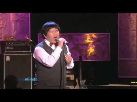 www honha8 com   Lâm Vũ Xuân biểu diễn  Amazing Grace  tại Ellen DeGeneres Show   honha8dotcom