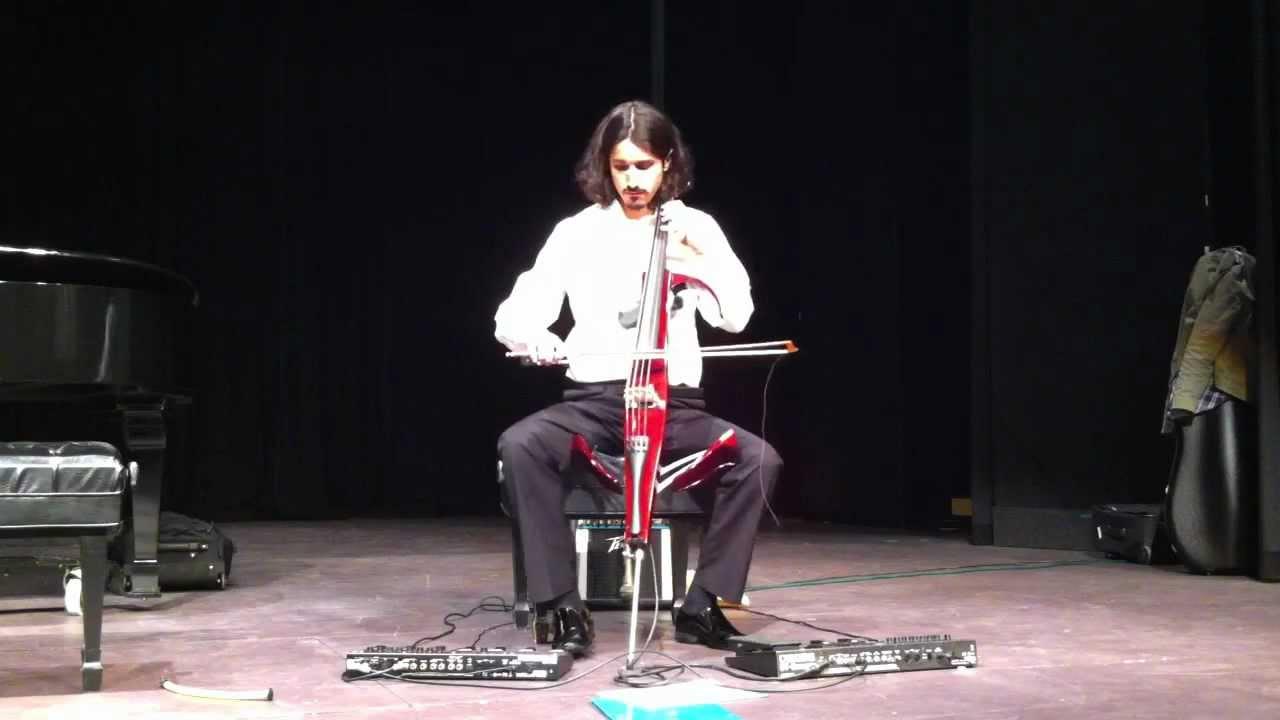 Yoed nir electric cello improvisation youtube for Yamaha electric cello svc 210