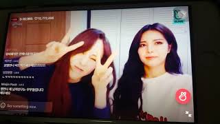 Byul reaction for received 10 millions heart on V live