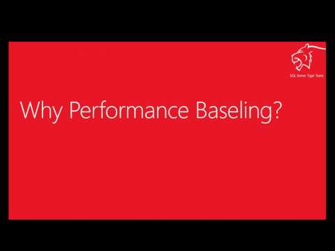 SQL Server Performance Monitoring &  Baselining