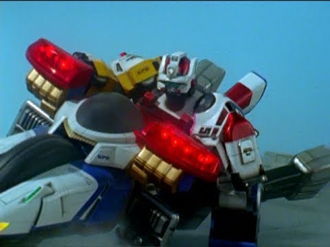 Power Rangers S.P.D. - Messenger - Megazord Fight | Omega Ranger