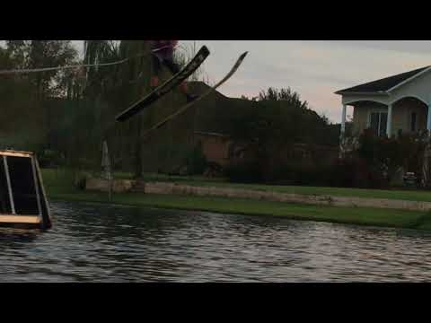 Waterski Jumping Rodney Allison 9/20/17