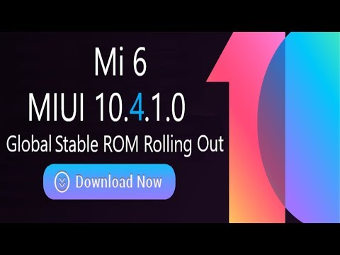 MIUI 10.4.1.0 Global brings stable Android Pie to the Xiaomi Mi 6 #MIUI #xiaomi #mi6