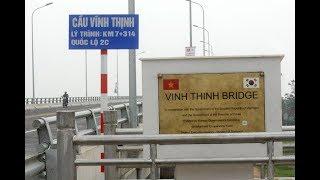 Toàn cảnh cầu VĨNH THỊNH vượt sông Hồng |KẾT NỐI SƠN TÂY  HÀ NỘI VĨNH PHÚC |VIetnam Discovery travel