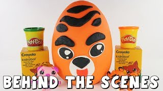 Play-Doh Surprise Egg Making Behind the Scenes with DCTC Amy Jo