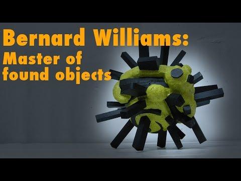 Found Object Sculpture Artist Bernard Williams