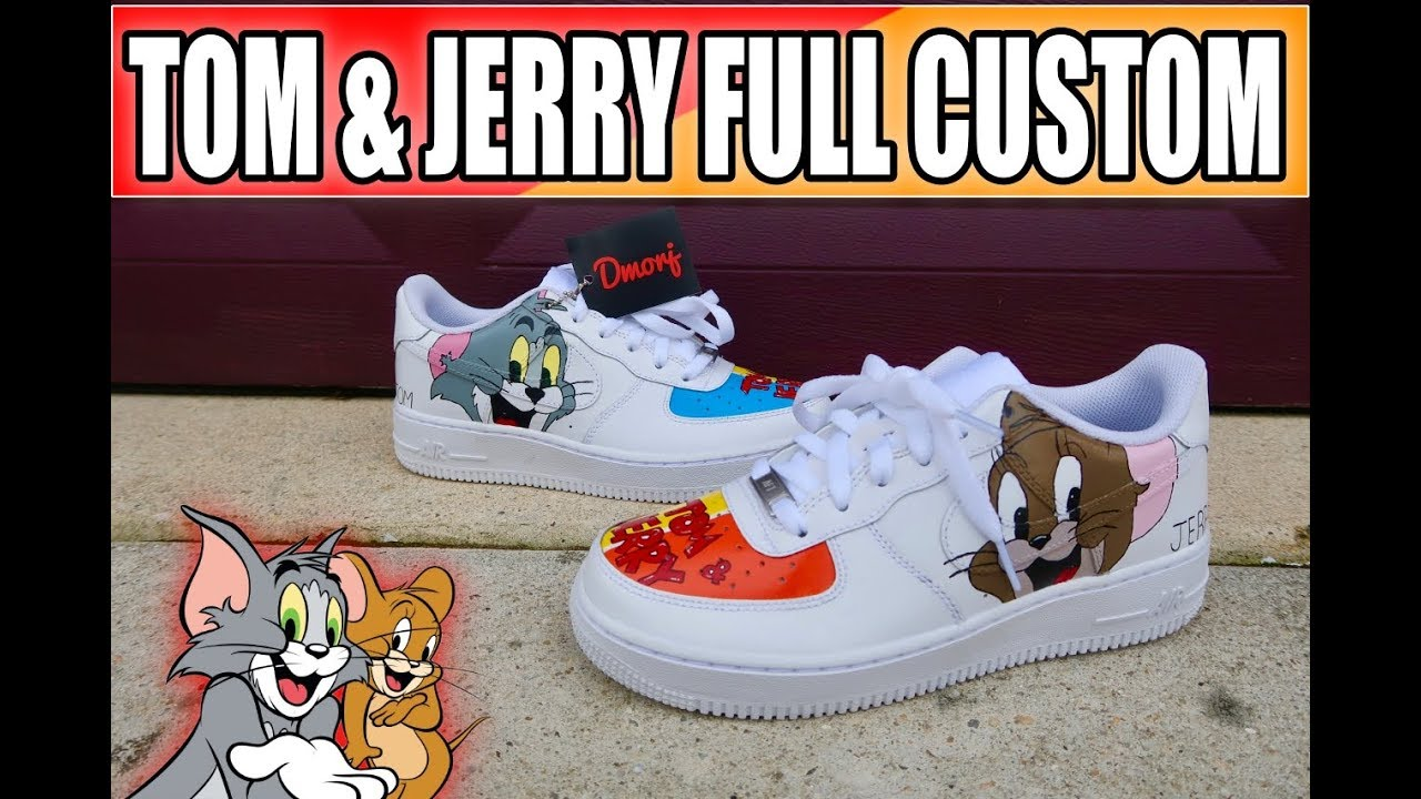 Af1how To Full And Jerry CustomTom E9eWYH2DI