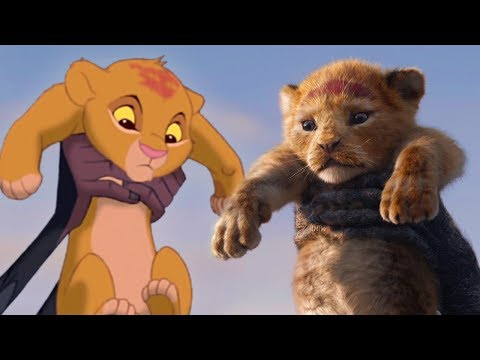 Paul McClelland - Lion King Trailer Side By Side Comparison