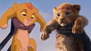 The Lion King Teaser Trailer Side-By-Side Comparison: 2019 vs 1994
