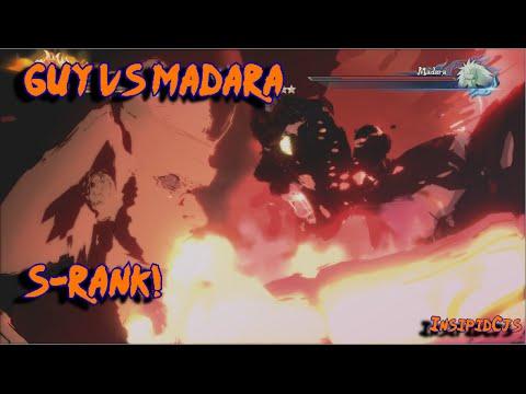 Naruto Ultimate Ninja Storm 4: Might Guy Vs Madara S-Rank (English) Story Part 18
