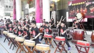 五舞太鼓種子團統領廣場演出