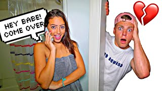 I SNUCK INTO MY GIRLFRIENDS HOUSE FOR 24 HOURS! *WHO IS HE*