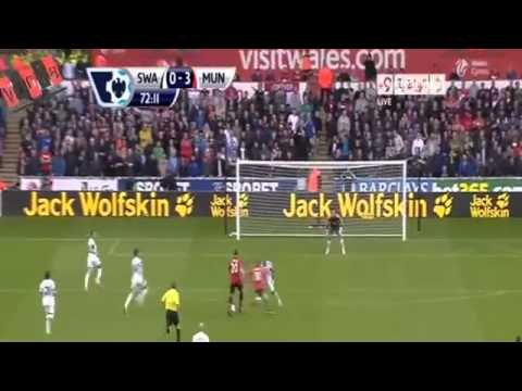 Manchester United vs Swansea 4-1 All Goals & Highlights [17-8-2013]