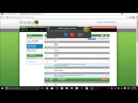 Healthy Grocery List On A Budget-Grocery IQ - YouTube