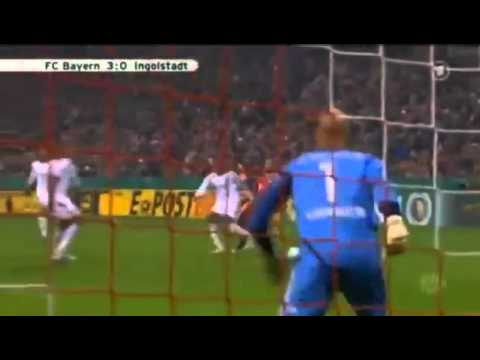 FC Bayern München - FC Ingolstadt [ 6:0 ] All Goals & Full Highlights - 26/10/2011 DFB Pokal