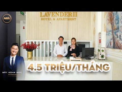 """Hotel & Apartment Căn hộ cho thuê """"NGAY BIỂN"""" Sơn Trà - Đà Nẵng 4,5tr/Tháng Full nội thất."""