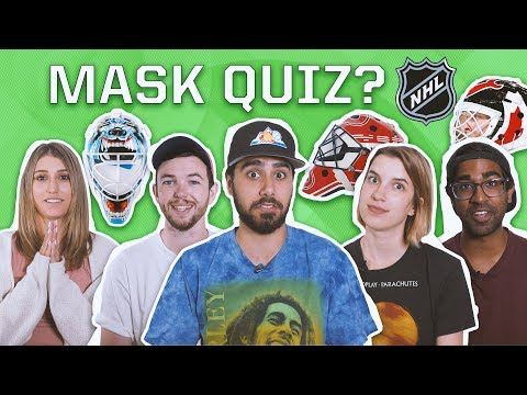 CAN YOU NAME ALL OF THESE NHL GOALIE MASKS?
