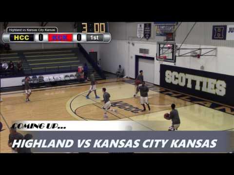 Highland Men's Basketball vs. Kansas City Kansas CC