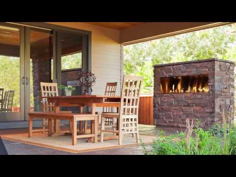 Outdoor Lifestyles Palazzo Gas Fireplace Video