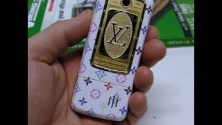 LUXURY LOUIS VUITTON Dual 2 SIM cell mobile phone