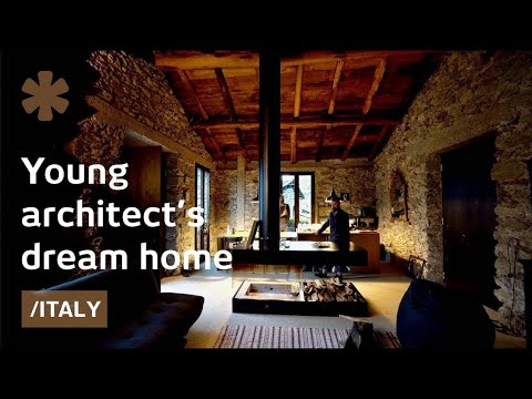 Old Barn Becomes Young Architect's Budget, Elegant Home-studio