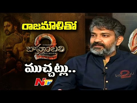 SS Rajamouli Special Interview about Baahubali 2 Movie Making || Prabhas, Rana Daggubati || NTV