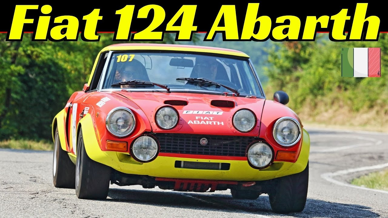 Fiat 124 Sport Spider Abarth Rally & Hillclimb Tribute, 70s Rally Legend, Gr.4 & Stradale 字幕付きの動画