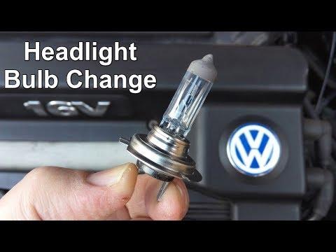 Headlight Bulb Change - Volkswagen Golf