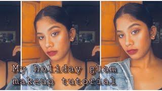 Simple Holiday Glam | GRWM | lamae hermosa