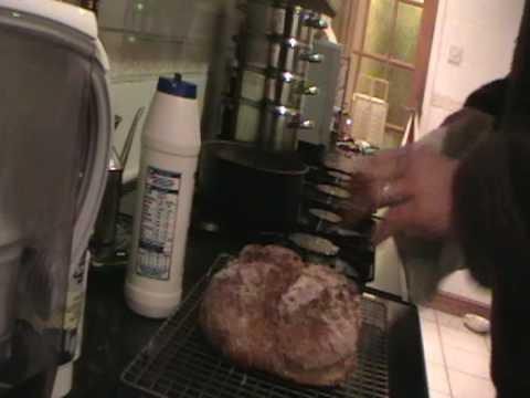 how to make Irish soda bread part 2
