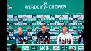 Vor dem Bayern-Spiel: Die Highlights der Werder-Pressekonferenz in 189,9 Sekunden