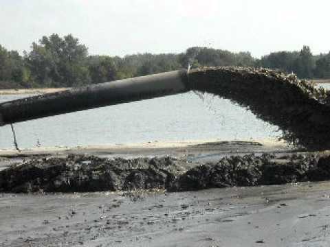 Dow's dioxin laden sediments slurried into Wildgame Preserve