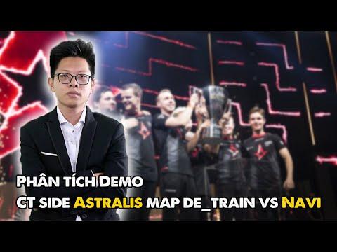 การวิเคราะห์สาธิต CT side Astralis map de_train vs Navi