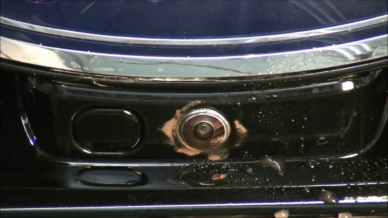 Ford Edge Front Camera Cleaning