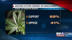 Poll shows Arizona voters favor legalizing recreational pot