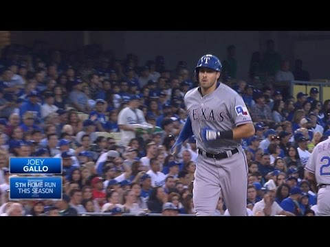 Gallo launches a two-run blast off Kershaw