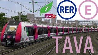 RER E | HAUSSMANN SAINT-LAZARE - TOURNAN aux commandes d'une Z50000 (Francilien) [Open Rails/MSTS]