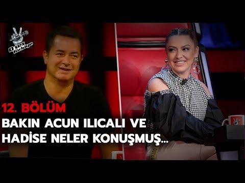 Acun Ilıcalı ile Hadise'nin herkesi güldüren Brüksel anısı! | O Ses Türkiye 2018