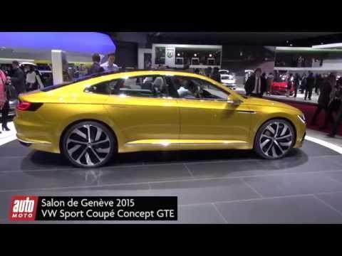 Volkswagen Coupé Sport GTE : la Passat CC ? - Présentation vidéo salon de Genève 2015