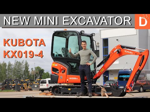 New Kubota Mini Excavator Kx019-4