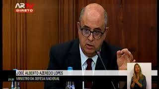 20-09-2017 | Audição do Ministro da Defesa Nacional | Azeredo Lopes