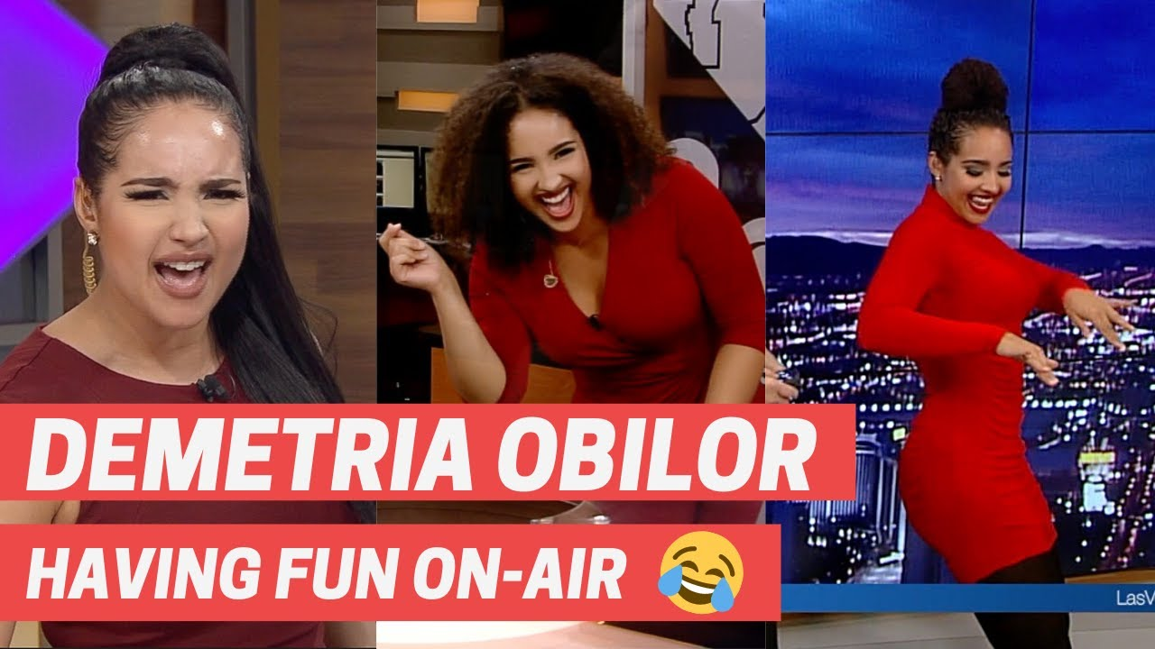 DEMETRIA OBILOR REEL: HAVING FUN ON-AIR!