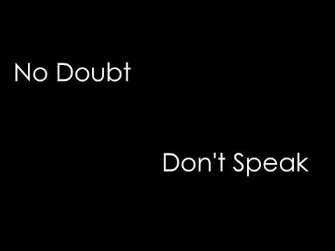 No Doubt - Don't Speak (lyrics)