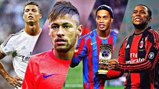Football's Most Skillful Showmen ●Ronaldo ●Neymar ●Ronaldinho ●Robinho