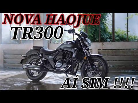 Nova haojue TR300 / lançamento / será que vem para o Brasil?