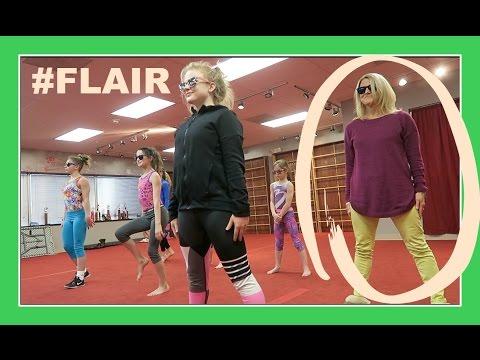 MISS JILL JOINS FLAIR (practice) | Flippin' Katie
