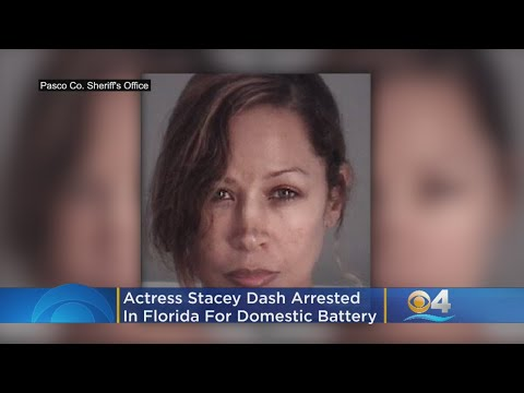 'Clueless' Actress Stacey Dash Arrested In Florida Domestic Battery Incident